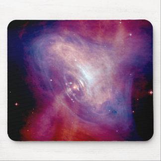Chandra Crab Nebula NASA Mouse Pad