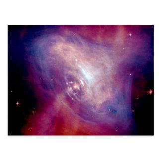Chandra Crab X-Ray Nebula NASA Postcard