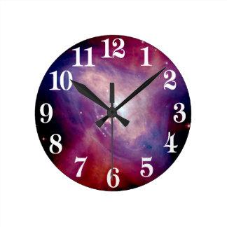Chandra Crab X-Ray Nebula NASA Round Clock