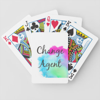 Change Agent Bicycle Playing Cards