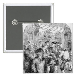Change Alley 2 Inch Square Button