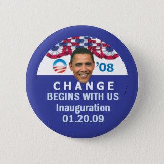 Change Begins Button