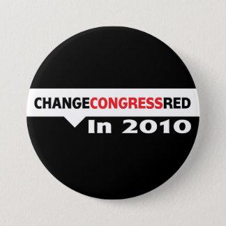 Change Congress Red in 2010 3 Inch Round Button