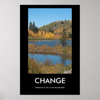 CHANGE Demotivational Poster