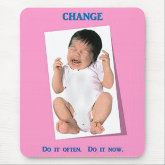 change-do-it-often-do-it-now mouse pad