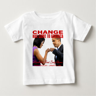 Change fist bump tee shirts
