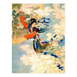 Chang'e Flying to the Moon Postcard