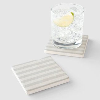 Change Grey Stripes to  Any Color Click Customize Stone Coaster