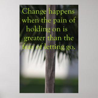Change Happens Poster