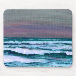 Change in the Weather Ocean Waves Seascape Mouse Pad