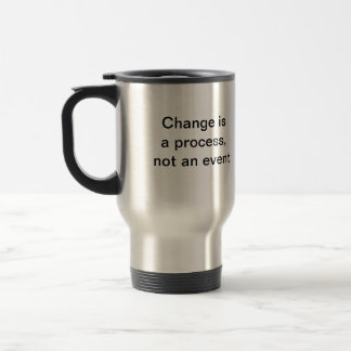 Change is a Process - aluminum mug