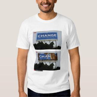 Change Is Coming Tee Shirt