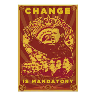 Change Is Mandatory Poster