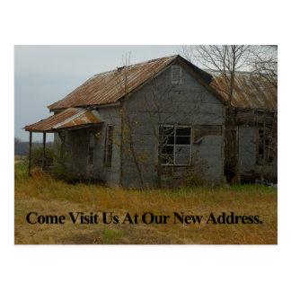 Change of Address Card: Come Visit Us Postcard
