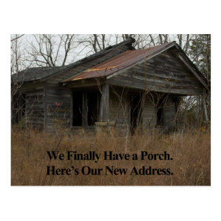 Change of Address Card: New Porch Postcard