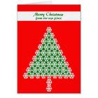 Change of Address Christmas Card, Christmas Tree Card