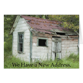 Change of Address: Great Location Card