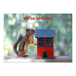 Change of Address/Housewarming Party Squirrel Card
