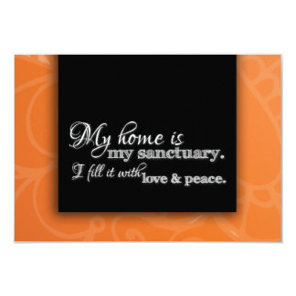 """Change of Address We Moved House Warming Blessing 3.5"""" X 5"""" Invitation Card"""