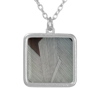 Change of Parallel Destinations Silver Plated Necklace