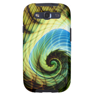 Change of Skin Gnarly Fractal Galaxy SIII Case