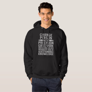 CHANGE PERSON HOODIE
