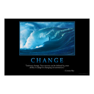 Change Poster
