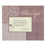 Change Quote Poster Customizable