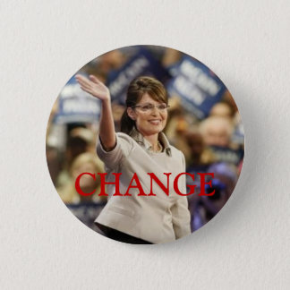 CHANGE-SARAH PALIN PIN