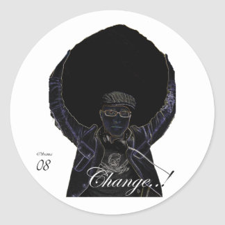 """Change..!"" Stickers"