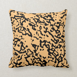 Change The Color Black Marble Design Pillow 2