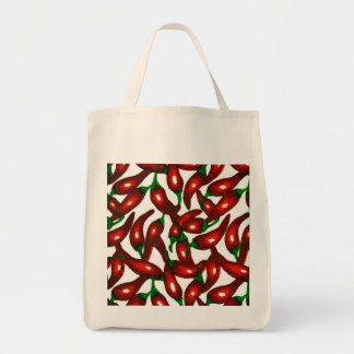Change the Color Chili Grocery Tote Bag