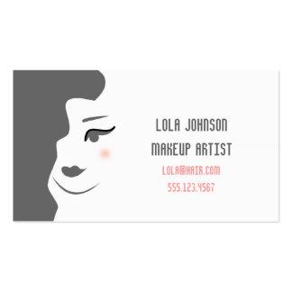 Change the color - Makeup Artist Esthetician Busin Business Cards