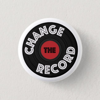 Change the Record 1 Inch Round Button