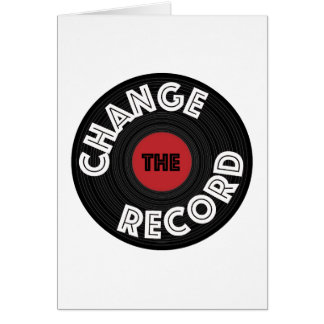 Change the Record Card