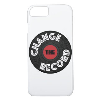 Change the Record! iPhone 8/7 Case