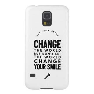 Change the world cases for galaxy s5