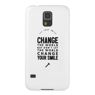 Change the world galaxy s5 case