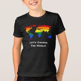 Change the world gay pride T-Shirt