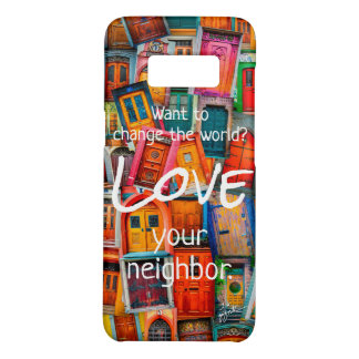 Change the World Love Modern Unique Old Doors Case-Mate Samsung Galaxy S8 Case