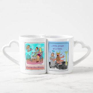 Change the World one Dream at a time Coffee Mug Set
