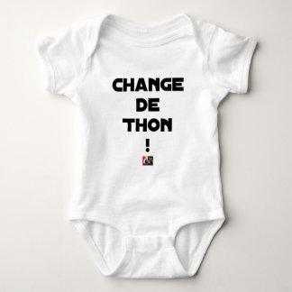 CHANGE TUNA! - Word games - François City Baby Bodysuit