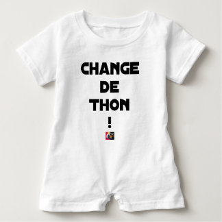 CHANGE TUNA! - Word games - François City Baby Romper