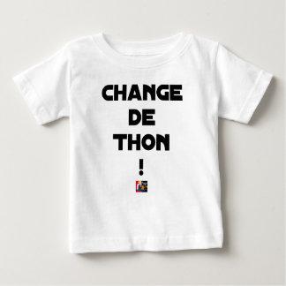 CHANGE TUNA! - Word games - François City Baby T-Shirt