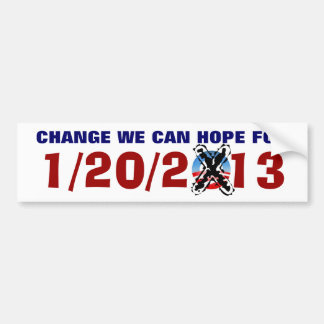 CHANGE WE CAN HOPE FOR BUMPER STICKER