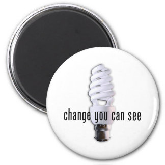 Change You Can See Magnet