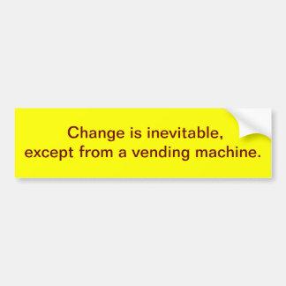 Change Your Bumper Sticker