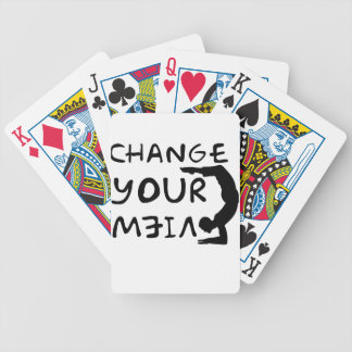 Change Your View(2) Bicycle Playing Cards