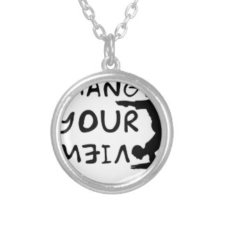 Change Your View(2) Silver Plated Necklace