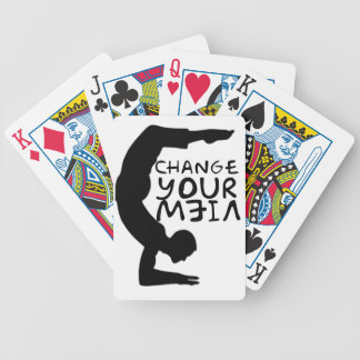 Change Your View Bicycle Playing Cards